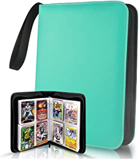 TONESPAC 400 Pockets Card Binder Carrying Holder Compatible with Trading Cards Binder, Coupon Organizer Baseball Card Slee...