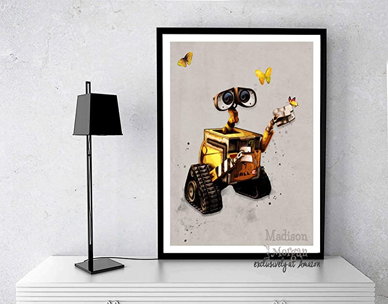 Wall E Inspired Digital Art Print Wall E Great Gift For Under 20 For Wall E Lovers Unique Disney Wall E Gift 11 X 14 Inches Unframed
