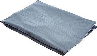 Fleuresse Vital Comfort Jersey Comfort Neck Pillow Cover, Jersey, Stone Grey, 40x60
