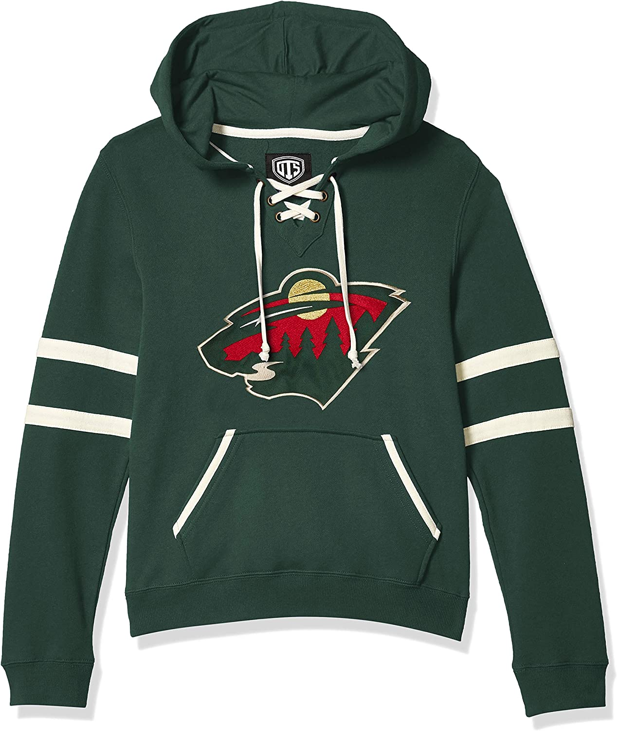 OTS Womens Grant Lace Up Pullover Hoodie