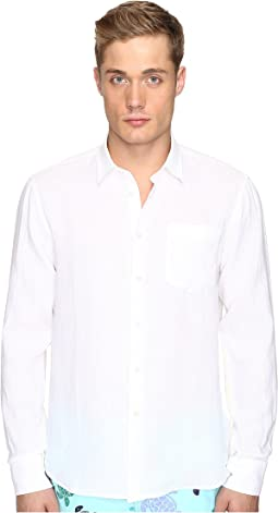 Linen Long Sleeve Button Up