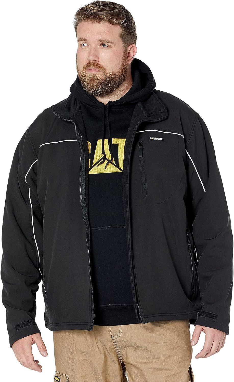 Caterpillar Men's Soft Shell Jacket (Regular and Big & Tall Sizes)