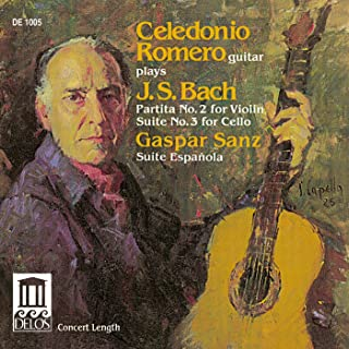 Bach, J.S.: Violin Partita No. 2 / Sanz, G.: Suite Española (Arr. for Guitar)