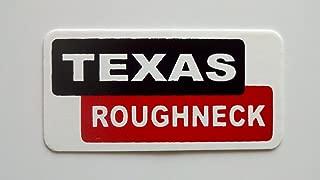 "3 - Texas Roughneck Hard Hat/Helmet Stickers 1"" x 2"""