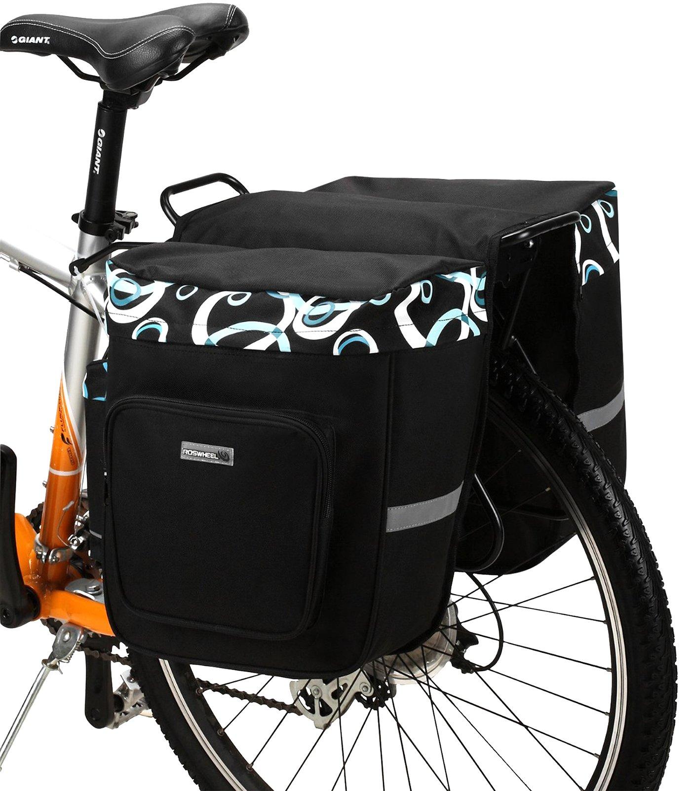 DCCN Alforja para sillín de Bicicleta, Bolsa para Bicicleta, Super ...
