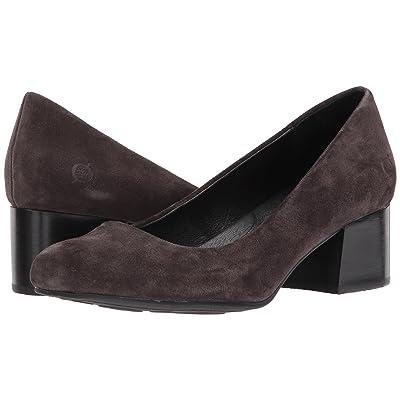 Born Amery (Dark Grey Suede) High Heels