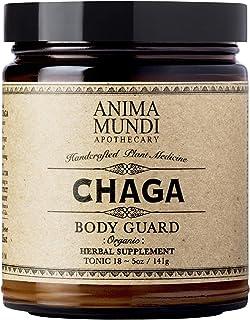 Anima Mundi Chaga Mushroom Powder - Immune Support Mushrooms, Pure Organic Sustainably Sourced Herbal Supplement, USA Grow...