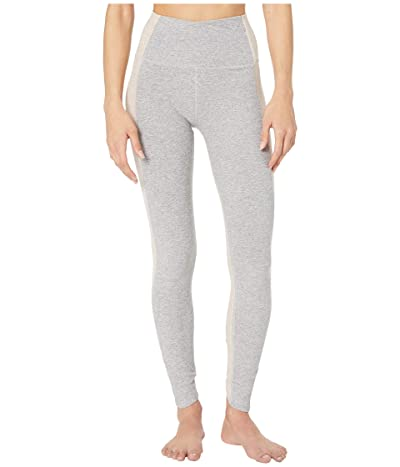 Beyond Yoga Spacedye Home Run High-Waisted Midi Leggings (Silver Mist) Women