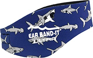 Ear Band-It Ultra Swimming Headband - Best Swimmer's Headband - Keep Water Out, Hold Earplugs in Secure Ear Plugs - Invent...