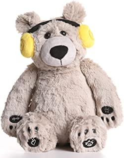 Lulla Bear Shusher by Alex & Kate - Mom's Heartbeat Sound, White Noise, and Lullabies - Portable Toddler Sleep Aid Toy, Ba...