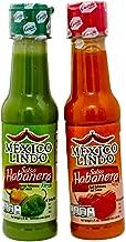 Castillo (Mexico Lindo) Salsa Habañera - Red & Green, 5-ounce Bottles