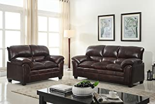 Best faux leather furniture set Reviews