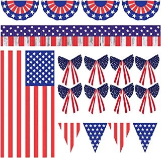 Patriotic Party Ultimate Outdoor Decorating Kit
