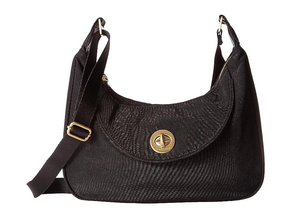 Baggallini Gold Oslo Small Hobo (Black) Hobo Handbags