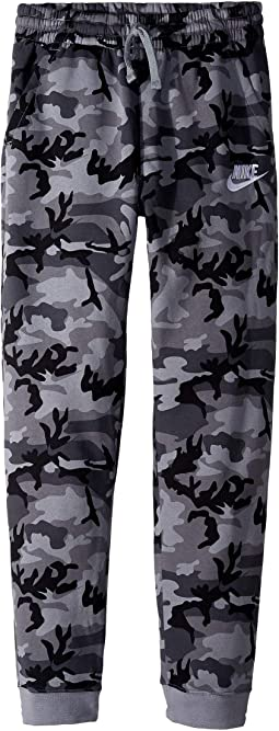 NSW Club Fleece Jogger Camo Print Pants  (Big Kids)