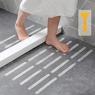 Anti Non Slip Shower Treads Stickers, Safety Bathtub Non Slip Stickers, Anti Skid Tape for Shower,Tub,Steps, Floor-Strengt...
