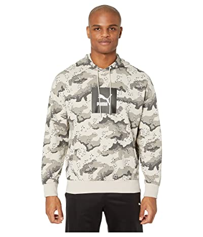 PUMA Wild Pack Hoodie (Silver Gray/Desert All Over Pony) Men