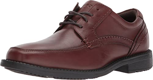 Rockport Men's Style Leader 2 Apron Toe Oxford, Tan II, 16 W US