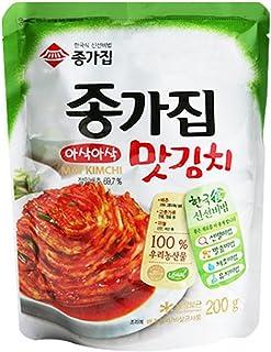 Chongga Mat Kimchi (Cut Cabbage Kimchi) In Pack 200g…
