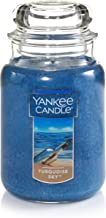 Yankee Candle Turquoise Sky Scented Premium Paraffin Grade Candle Wax with up to 150 Hour Burn Time, Large Jar