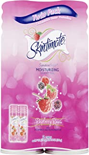 Skintimate PX-564 Signature Scents Moisturizing Shave Gel for Women, Raspberry Rain Scent with Vitamin E and Olive Butter ...
