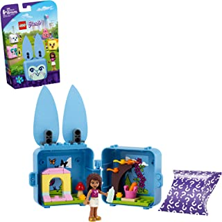 LEGO Friends Andrea's Bunny Cube 41666 Building Kit; Rabbit Toy for Kids with an Andrea Mini-Doll Toy; Bunny Toy Makes a C...