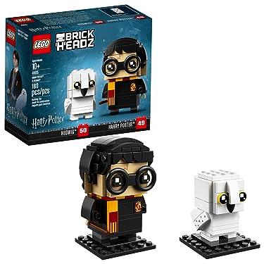 LEGO BrickHeadz 180 Piece Harry Potter & Hedwig Building Kit, Multicolor