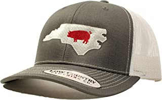 Low Country Clothing Company Official North Carolina Pig Adjustable Hat - Embroidered on Richardson 112 Trucker Hat