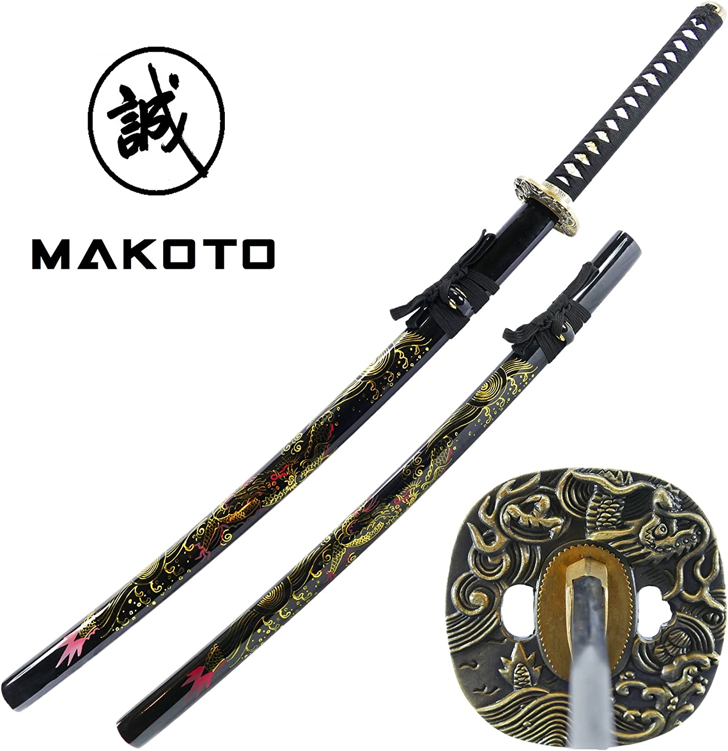 MAKOTO Hand Forged Razor 爆売りセール開催中 Sharp Painted OUTLET SALE with Katana Sword Sc