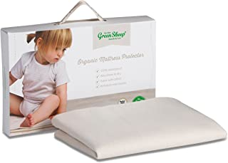 The Little Green Sheep Organic Waterproof Mattress Protector (Moses Basket Size)