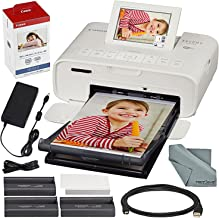 Canon SELPHY CP1300 Compact Photo Printer (White) with...