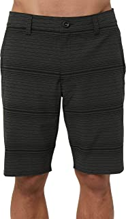 O'Neill Men's Water Resistant Hybrid Walk Short, 20 Inch Outseam