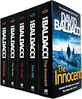 Will Robie Series Complete 5 Books Collection Set by David Baldacci (The Innocent, The Hit, The Target, The Guilty & End G...