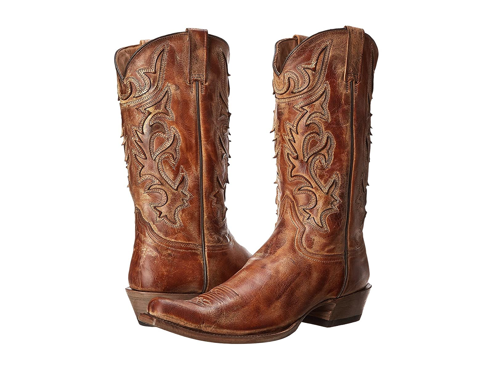 Stetson Cracked Inlay Snip Toe BootCheap and distinctive eye-catching shoes