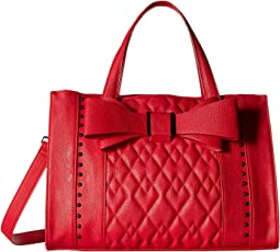 Quilted Bow Satchel