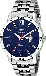 Eddy Hager Day and Date Men's Watch