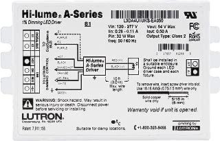 Lutron L3DA4U1UKS-EA50 Hi-Lume 1% Dimmable LED Driver, 32-Watt, 54-Vdc, 120/277V