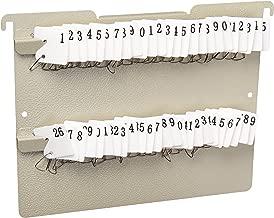 file cabinet key storage panels