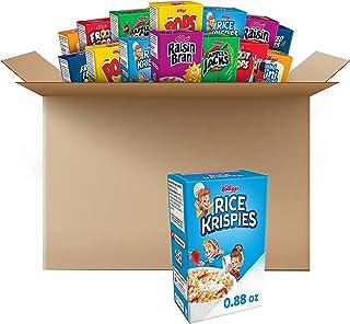 کلوگ ، غلات صبحانه ، جعبه های یک وعده ، بسته بندی متنوع ، 48 عدد
