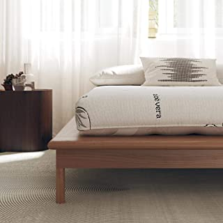 "Signature Sleep Honest Elements 7"" Natural Wool Mattress with Organic Cotton and Micro Coils, Full Size, Made in USA"