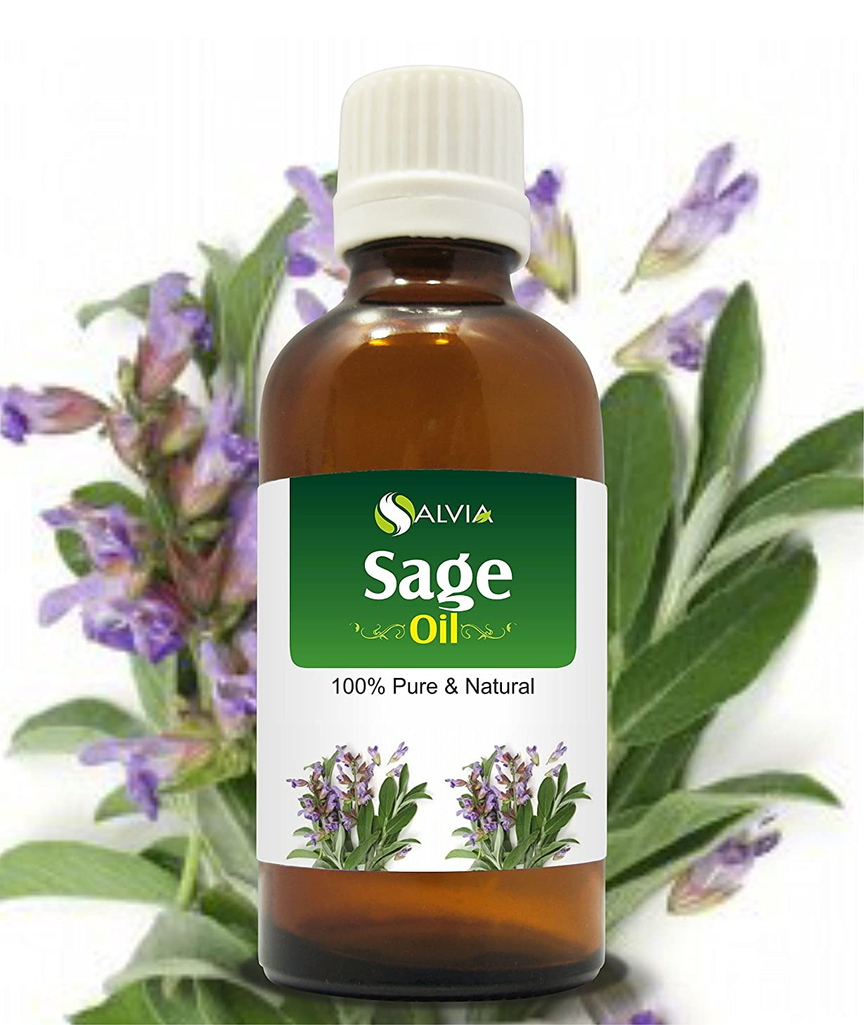 解体するオリエンテーション読者SAGE OIL 100% NATURAL PURE UNDILUTED UNCUT ESSENTIAL OIL 15ML