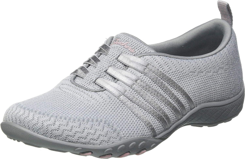 Skechers Women's Sneaker 評価 新作 大人気 Breathe-Easy-Approachable
