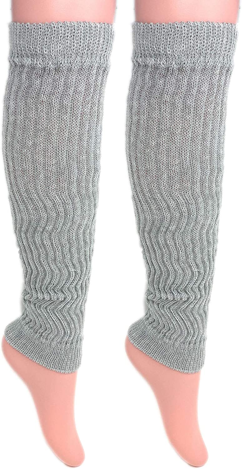 Acrylic Leg Warmers for Women Soft and Stretchy 1 Pair