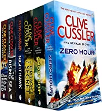 The Numa Files 6 Books Collection Set By Clive Cussler (Book 11-16) (Zero Hour, Ghost Ship, The Pharaoh's Secret, Nighthaw...