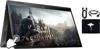 "2020 HP Envy x360 2in1 Laptop 15.6"" FHD Touch-Screen, AMD Ryzen 5 4500U Six-core(Beat i5-9300H, up to 4GHz), 16GB RAM, 512..."