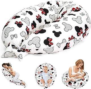 Coussin d'allaitement, coussin de grossesse, coussin de positionnement latéral, coussin de positionnement pour bébé XXL, p...