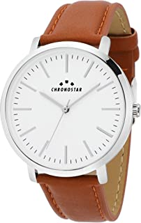 Chronostar R3751258503 Synthesis Year Round Analog Quartz Brown Watch