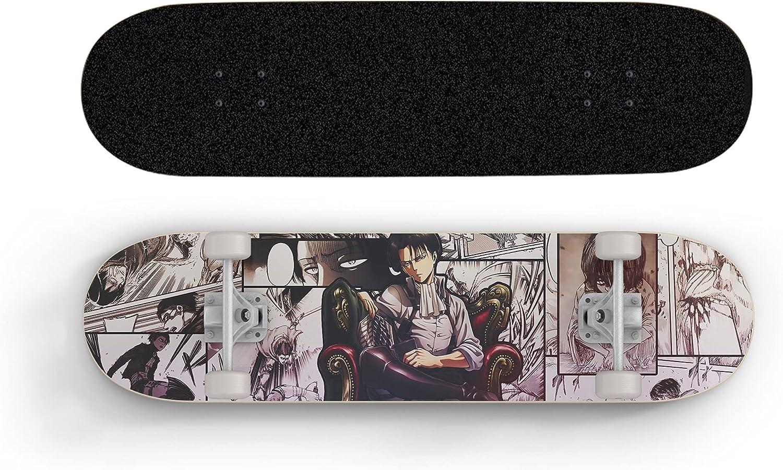 ZZYYII Attack On Titan Seven-Layer Maple Cartoon wholesale L Finally resale start Skateboard