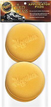 "Meguiar's W0004 Supreme Shine 4"" Foam Applicator Pads, 4 Pack: image"