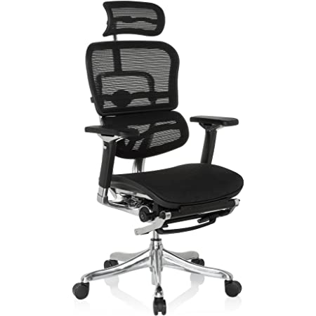 hjh Office Ergohuman Plus Legpro (Leder oder Netz)